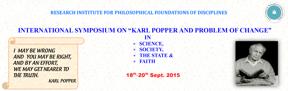 Karl Popper and Problem of Change